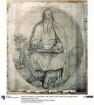 Der Evangelist Lukas. Karton zu den Fresken der Ludwigskirche in München