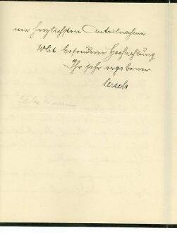 Brief von Heinrich Lersch