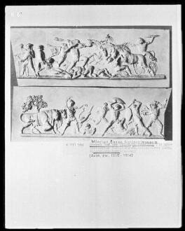 Folge von Modellreliefs für einen Tafelaufsatz für König Max 1. — Kampf der Giganten mit den Göttern