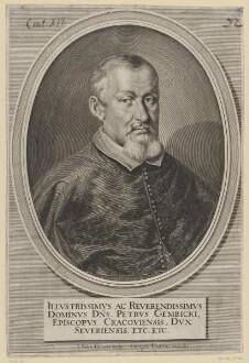 Bildnis des Petrvs Gembicki