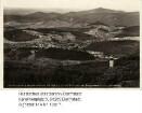 Brandau im Odenwald, Gesamtansicht mit Odenwaldlandschaft / Luftaufnahme