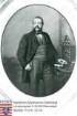 Hochgesand, Peter (1818-1896) / Porträt in Medaillon, neben Aufsatzschreibtisch in Raum stehend, Kniestück