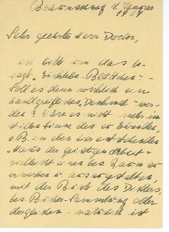 Postkarte von Helene Voigt-Diederichs