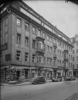 Straßenansicht, 1937