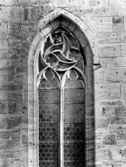 Maßwerkfenster,Chor, Nordwestseite