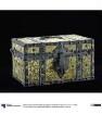 Dokumentenkästchen mit eingeklebtem Kupferstich