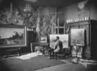 Künstleratelier August Fink (1846-1916), Landschaftsmaler