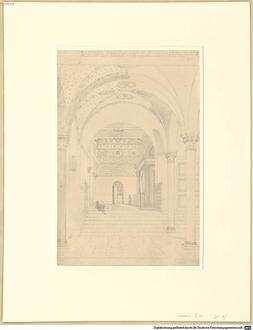 Nachlass von Leo von Klenze (1784 - 1864) - BSB Klenzeana. IX.5, Zeichnungen aus Italien - BSB Klenzeana IX.5