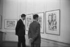 """Ausstellung """"Die Graphik von Max Beckmann"""" im Badischen Kunstverein."""