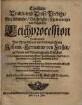 Christliche Trawr- und Trost-Predigt, Bey Adelicher, Volckreicher, sehr trawriger und kläglicher Leichprocession Des ... Herrn Johann-Hermanns von Zerßen ... Welcher ... den 27. Jun. dieses 1648. Jahrs zur Lawenaw Todes verblichen ...