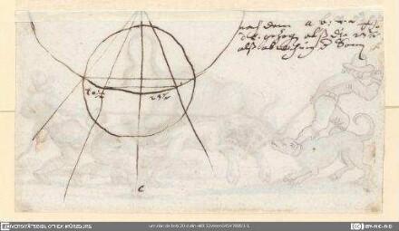 Astronomische Zeichnung