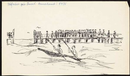 Abfahrt zur Insel Ameland!