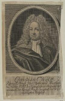 Bildnis des Christian Wolff