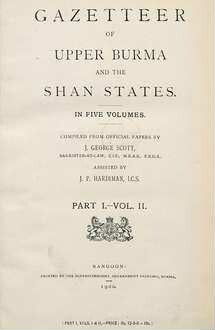 Gazetteer of Upper Burma and the Shan States ; Pt. 1, Vol. 2