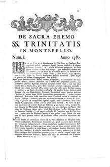 Historica Monumenta Ordinis Sancti Hieronymi Congregationis B. Petri De Pisis : ac documentis nunc primum editis illustrata. 2