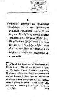 Annalen der leidenden Menschheit : in zwanglosen Heften. 9, 9. 1801