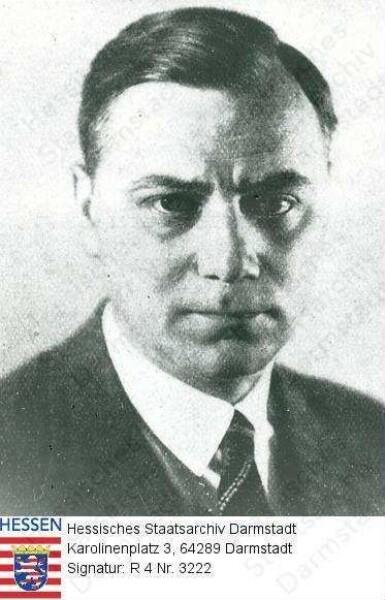 Rosenberg, Alfred (1893-1946) / Porträt, Brustbild