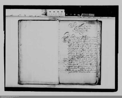 Entsendung des Fürsten Johann Moritz von Nassau-Siegen als kurbrandenburgischen Gesandten nach England