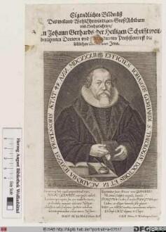 Bildnis Johann Gerhard