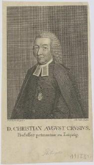 Bildnis des Christian Avgvst Crvsivs