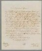 Immanuel Kant (1724 - 1804) Autographen: Briefe von Immanuel Kant an verschiedene Adressaten - BSB Autogr.Cim. Kant, Immanuel. 3, Immanuel Kant (1724 - 1804) Autographen: Brief von Immanuel Kant an N. N. - BSB Autogr.Cim. Kant, Immanuel.3