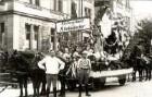 """Postkartenalbum mit Motiven von Karlsruhe - """"Reichsverband der Rheinländer"""" - Alemannisch-pfälzisch-fränkischer Heimatsonntag Karlsruhe 21.9.1924"""