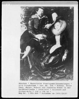 Rubens und Isabella Brant in der Geißblattlaube