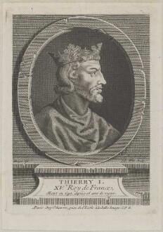 Bildnis des Thierry I. de France
