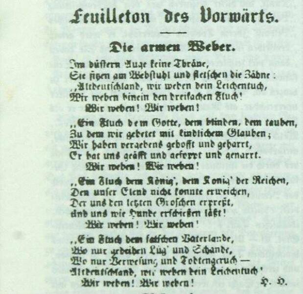016 Heines Weberlied Deutsche Digitale Bibliothek
