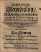Fürstlich Sächsische Verordnung, nach welcher in dem Fürstenthum Gotha die Medici, ingleichen die Apotheker ... sich zu achten haben : worbey zugleich die Tax-Ordnung vor die Medicos, Apothecker ...