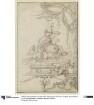 Entwurf für die dekorative Füllung eines Panneau