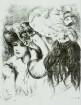 Halbfiguren zweier Mädchen