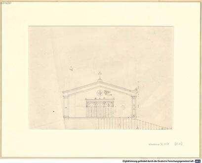 Nachlass von Leo von Klenze (1784 - 1864) - BSB Klenzeana. IX.2, Zeichnungen aus Italien - BSB Klenzeana IX.2