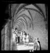Kreuzgang im Kloster Chorin, Juli 1970