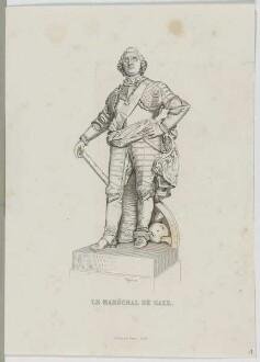 Bildnis des Moritz, Maréchal de Saxe