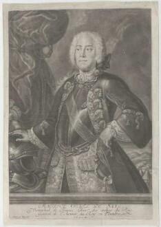 Bildnis des Maurice de Saxe