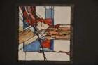 Entwurf für ein Glasfenster in einem Privathaus in Marburg-Wehrda