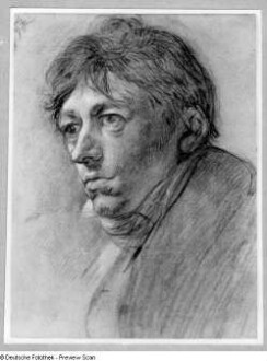 Bildnis des Landschaftsmalers Carl Anton Graff, Sohn Anton Graffs