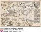 WHK 25 Deutscher Siebenjähriger Krieg 1756-1763: Plan des Gefechts bei Erksdorf in der Nähe von Amöneburg zwischen den Alliierten und den Franzosen, 16. Juli 1760