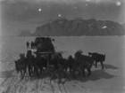 Hundeschlitten (Grönlandexpedition 1891-1893)