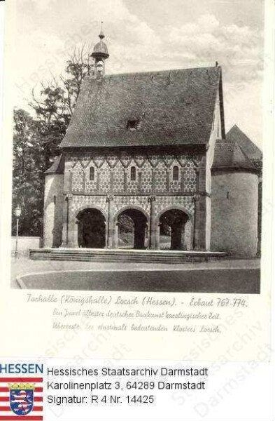 Lorsch an der Bergstraße, Benediktinerabtei / Torhalle