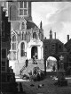 Das alte Hospital im Haag mit Staffage