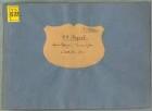 "Kommet her ihr frechen Sünder, S, strings, org, KV 317b, B-Dur - BSB Mus.ms. 1280 : [title, by L. Mozart, S:] Aria // de Passione D: N: Jesu Christi // à // Soprano Solo // Violino 1 m o // Violino 2 d o // Viola // et // Organo // di Wolfgango Amadeo // Mozart. // [binding title, by later hand:] W. A. Mozart. // Aria di Passione ""Kommet her"" // a Canto Solo c. Strom"