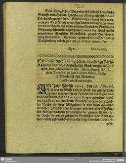 Die Censur einer Theologischen Facultet zu Paris, so begeben wieder das Auffrührische Buch, welches tituliret wird, eine Admonition oder Vermahnung G.G.R. eines Theologi an Ludovicum den 13. König in Franckreich und Navarr, [et]c.