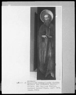 Bosseroder Altar — Seitenflügel rechts - Apostel Paulus