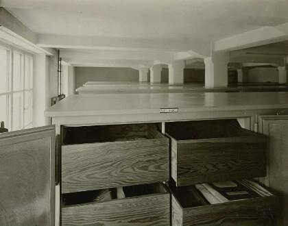 Ein Urkundensaal, 1931; Deutsche Fotothek