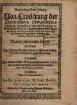 Warhafftige Newe Zeitung von Eroberung der Churfürstlichen Pfaltzgräfischen Hauptstatt Heydelberg ...