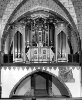 Barocker Orgelprospekt