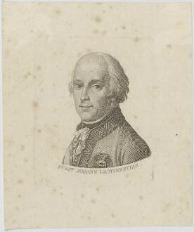 Bildnis Fürst Johann Lichtenstein
