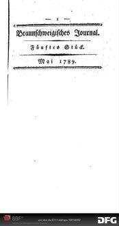 Bemerkungen über die Abhandlung im März-Stück der Berliner Monatsschrift 1789, betitelt: 'Verba valent, sicut nummi': oder von der Wortmünze